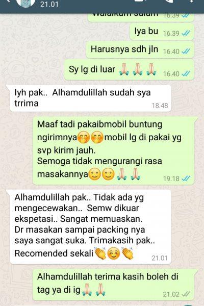 Testimoni Ibu Ulfah Tangerang