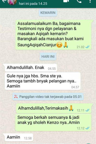 Testimoni Ibu Wanhart Cianjur